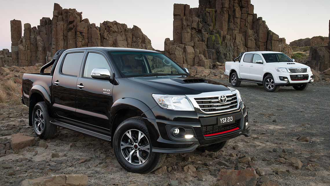 2014 Toyota Hilux Black Edition Detailed Car News