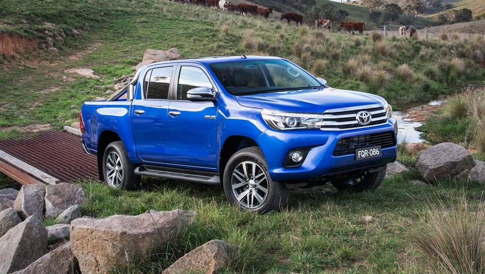 Toyota HiLux Wins Record June Sales Race