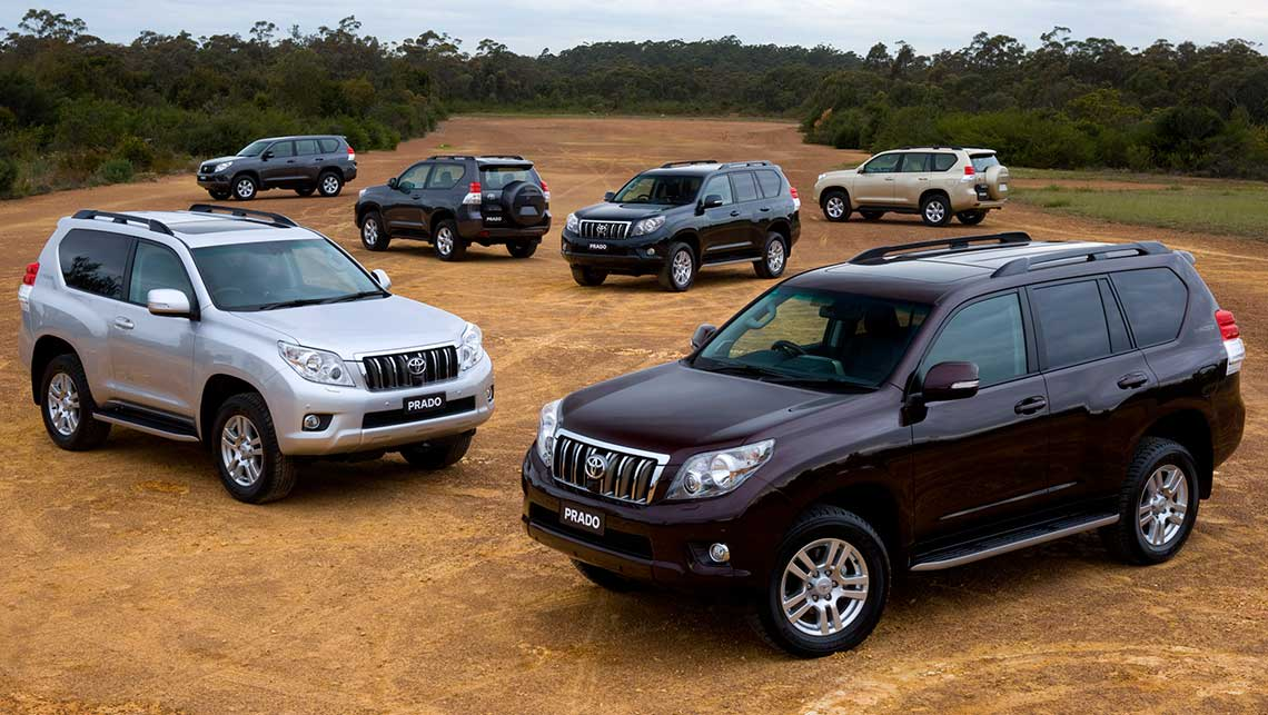 Used Toyota Land Cruiser Prado Review 2009 2013 Carsguide