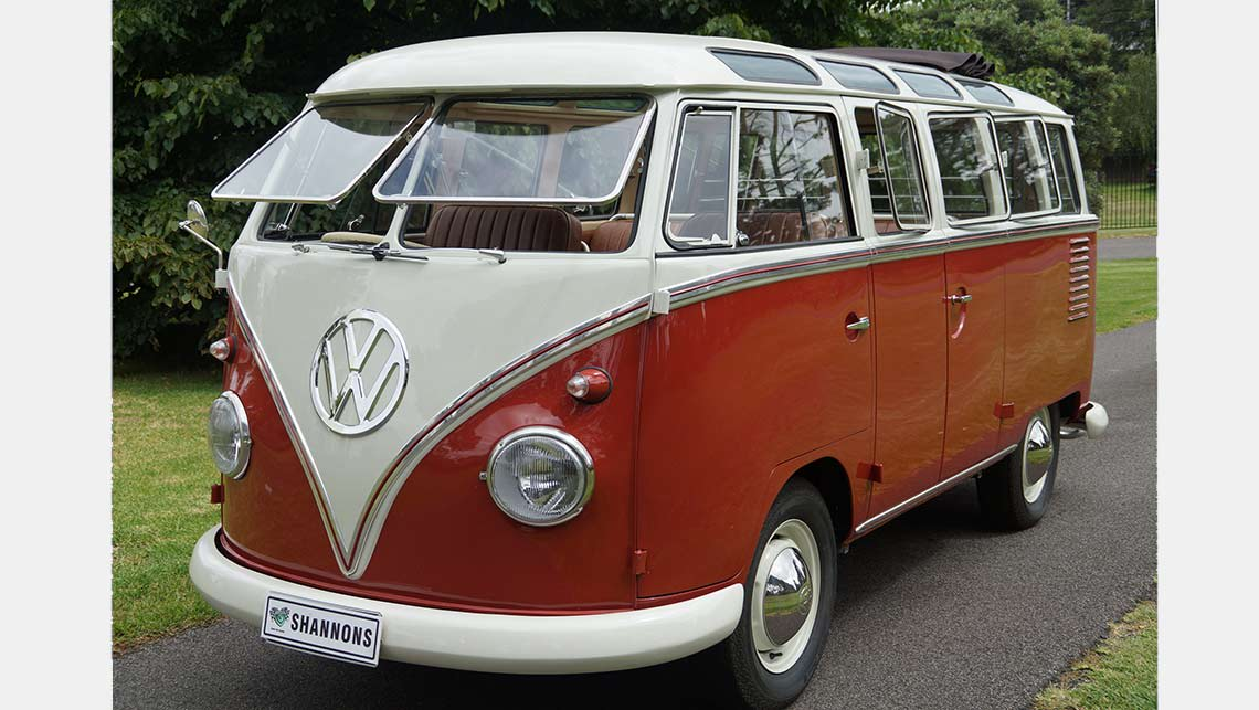 Vw Kombi Sets World Record At Auction Car News Carsguide
