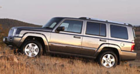 Jeep Commander 2006 Review: Snapshot