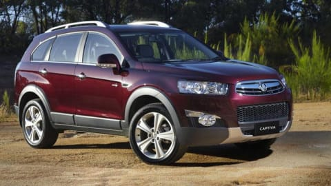 Holden Captiva Reviews Carsguide