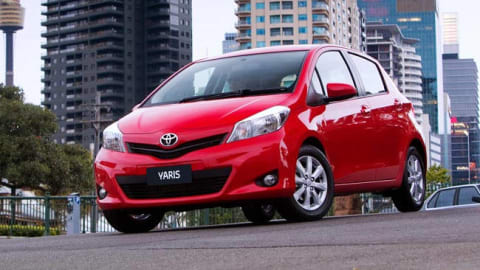 Toyota Yaris YRX 2013 Review