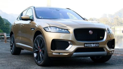 Jaguar F-Pace First Edition petrol 2016 review | road test