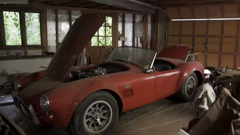 4mil Barn Find Ferrari And Cobra Blows Minds