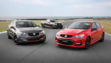 2017 Holden Commodore special editions uncovered