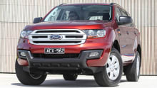 Ford Everest 4WD reclassified as MC for 2017