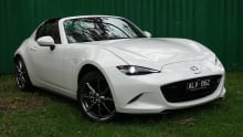 Mazda MX-5 RF GT special edition 2017 review | road test