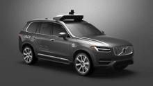 Uber suspends autonomous vehicle testing after XC90 flip