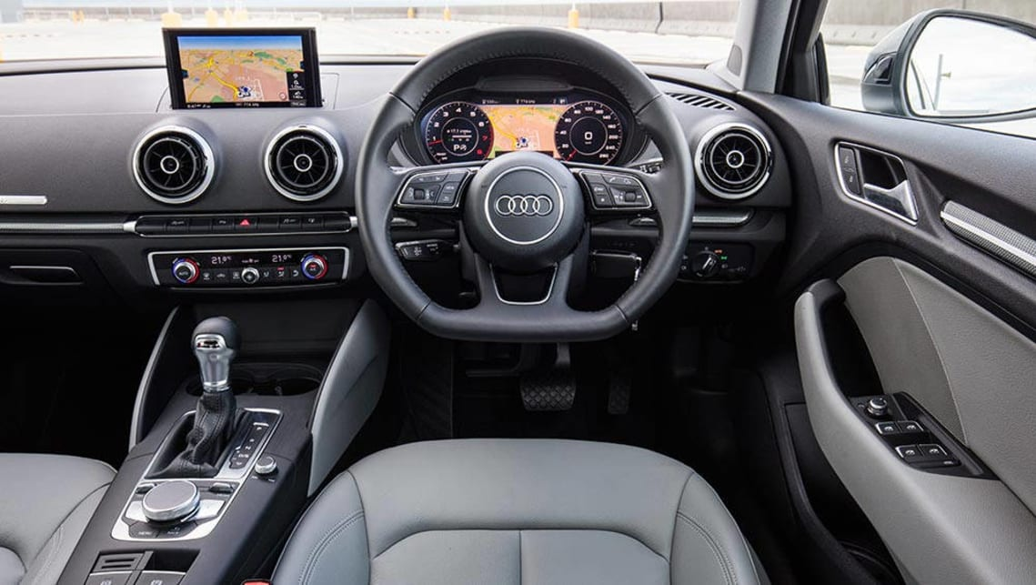 Audi A3 Carplay >> Audi A3 1.4 TFSI COD 2016 review | snapshot | CarsGuide
