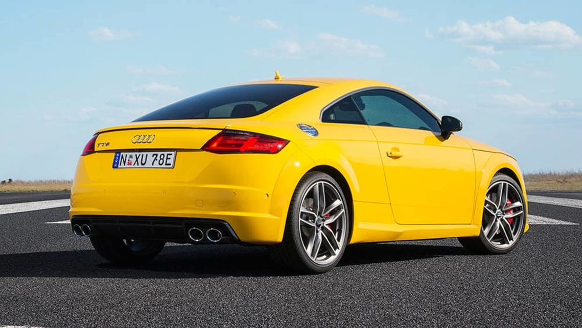 2016 audi tts coupe review road test carsguide. Black Bedroom Furniture Sets. Home Design Ideas