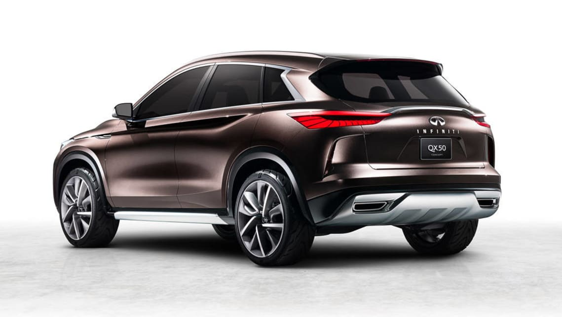 Production-ready Infiniti QX50 SUV unveiled