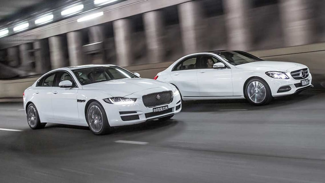 2015 Jaguar Xe Prestige Vs Mercedes Benz C200 Review