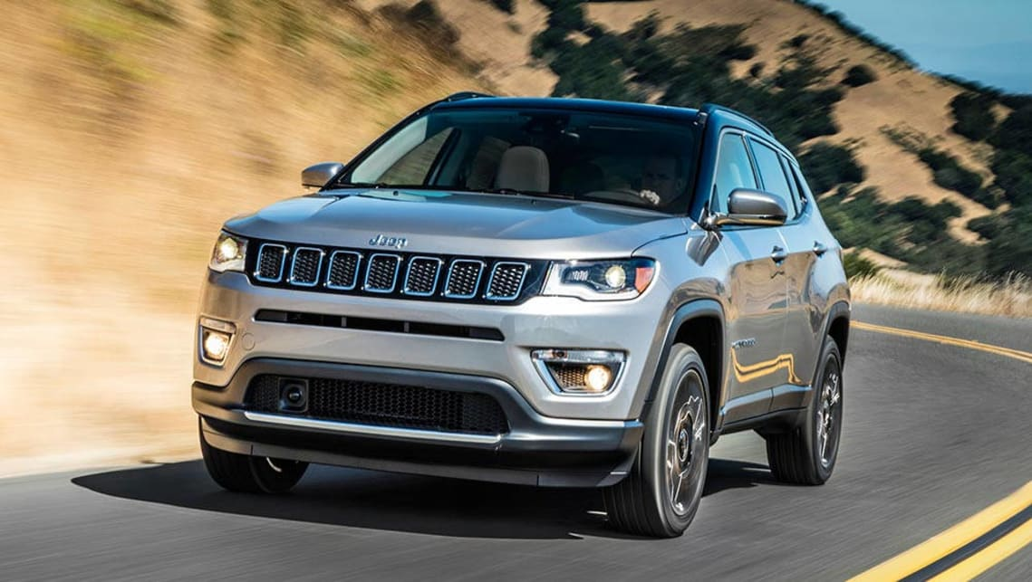 2017 jeep compass detailed la motor show car news carsguide. Black Bedroom Furniture Sets. Home Design Ideas