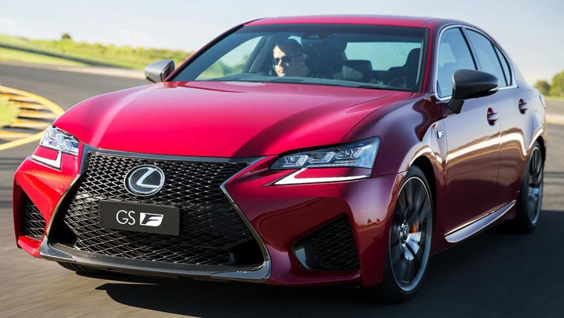 lexus gs f 2016 review road test carsguide. Black Bedroom Furniture Sets. Home Design Ideas