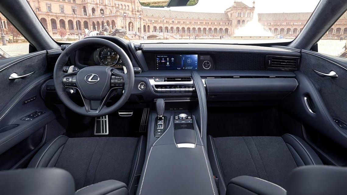 Lexus LC500 2017 review | first drive | CarsGuide