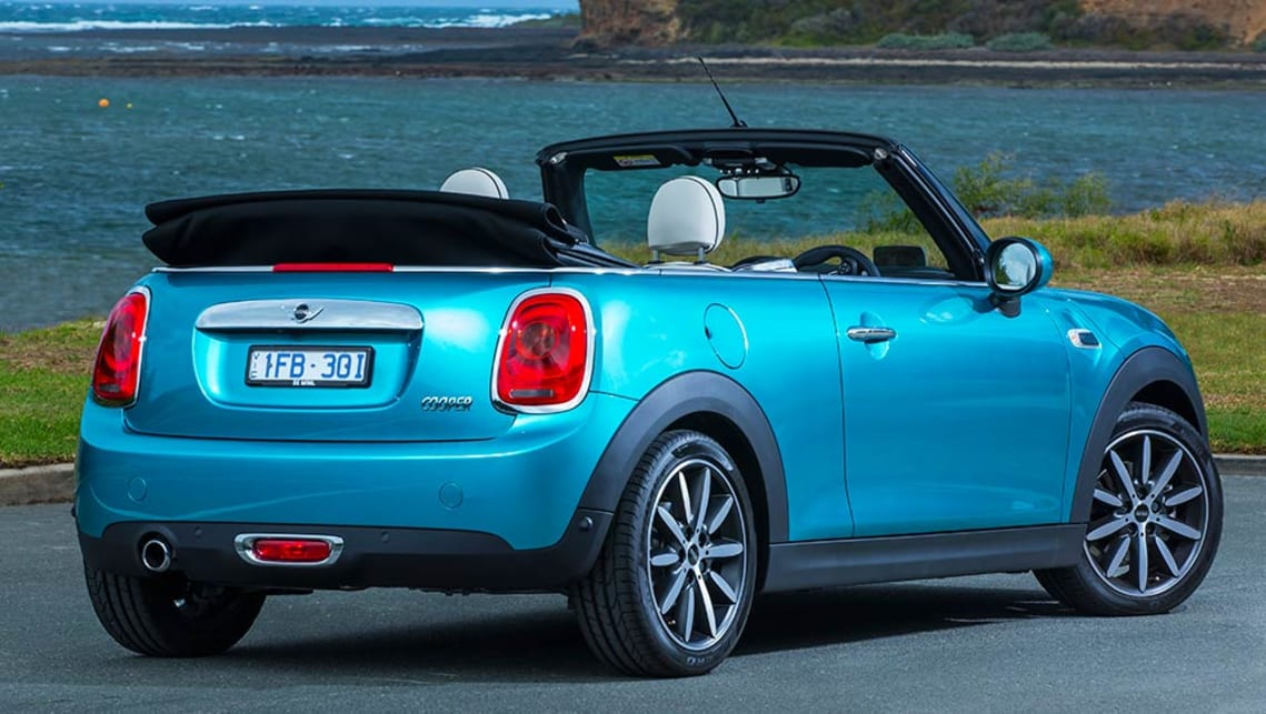 2016 Mini Convertible Review First Drive Carsguide