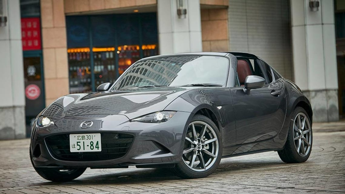 Mazda Mx 5 Rf 2017 Review Quick First Drive Video