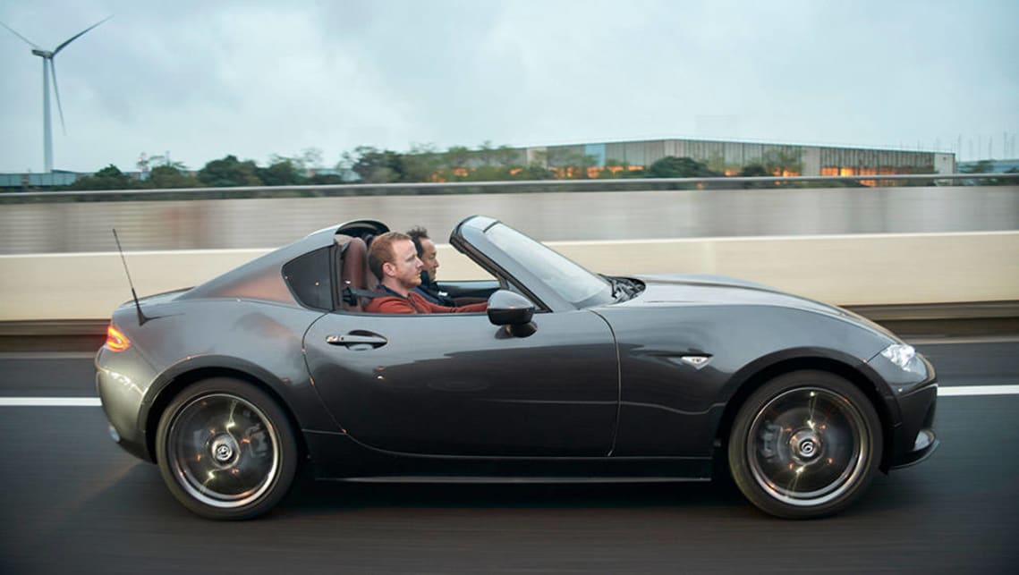 mazda mx 5 rf 2017 review quick first drive video carsguide. Black Bedroom Furniture Sets. Home Design Ideas
