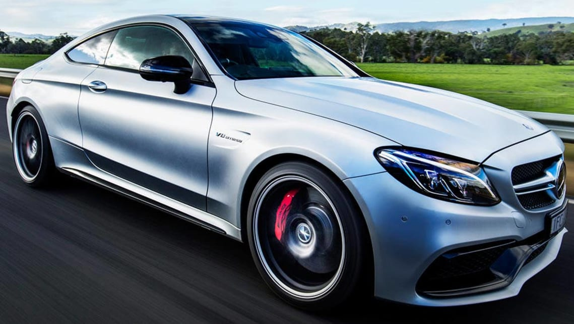 Mercedes amg c63 s coupe 2016 review first road drive for Mercedes benz c63 amg coupe price