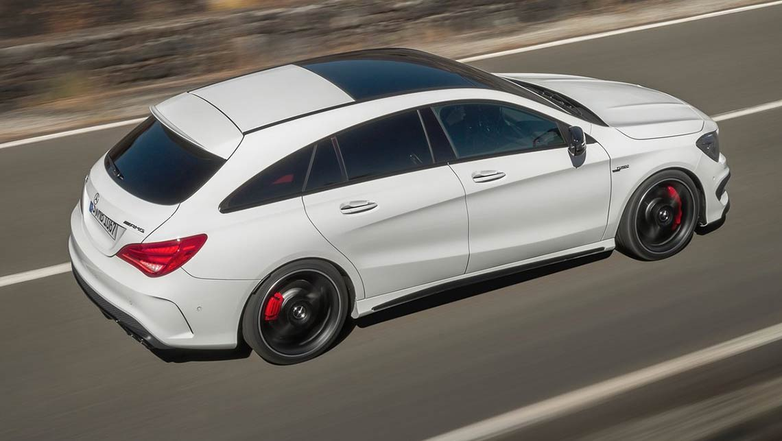 2015 mercedes benz cla shooting brake review road test carsguide. Black Bedroom Furniture Sets. Home Design Ideas