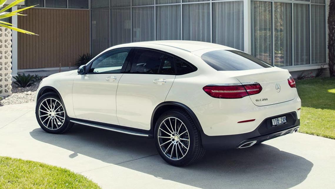 mercedes benz glc 250d coupe 2016 review snapshot carsguide. Black Bedroom Furniture Sets. Home Design Ideas