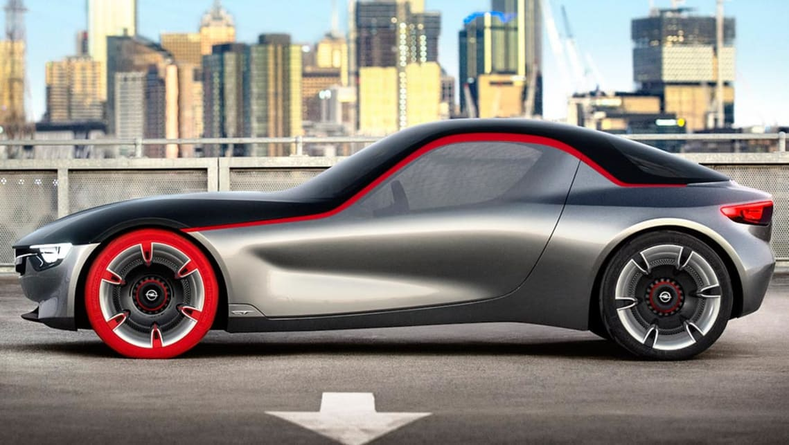 Holdenbuilt Opel GT wows Geneva  Car News  CarsGuide