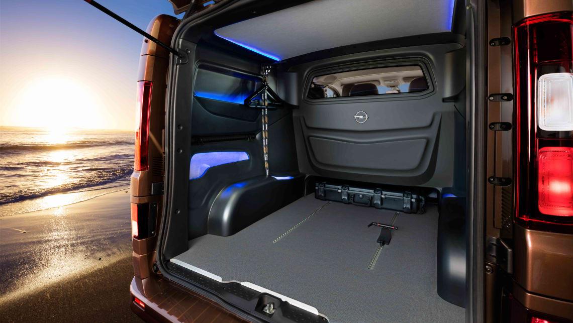 Opel Vivaro Surf Edition Previews Next Holden Sandman