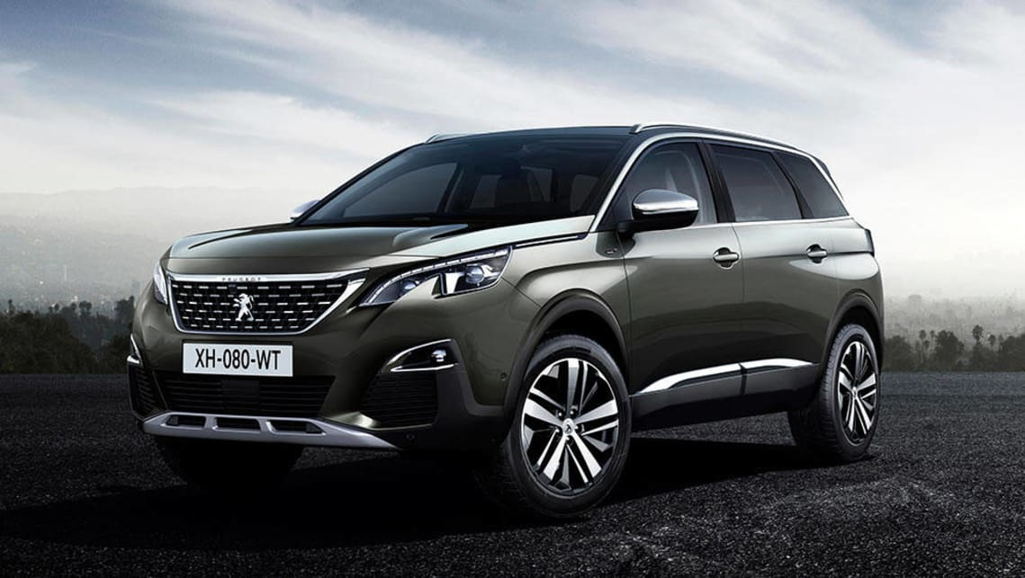 2017 Peugeot 5008 SUV revealed - Car News | CarsGuide
