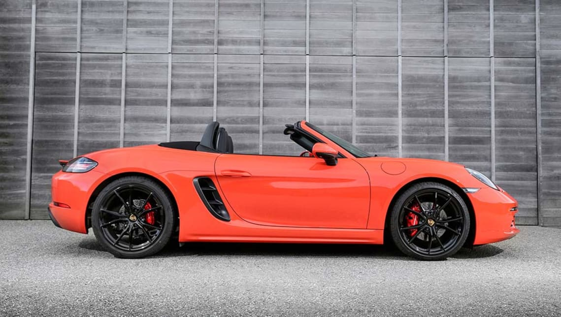 porsche 718 boxster s 2016 review road test carsguide. Black Bedroom Furniture Sets. Home Design Ideas