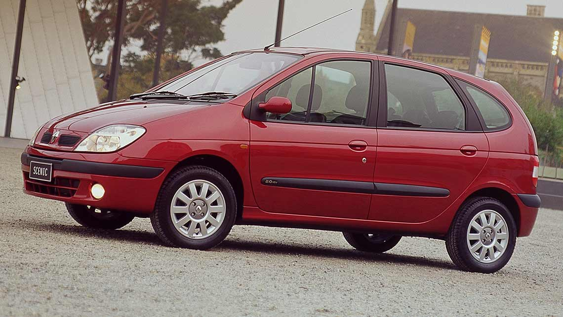 used car review renault scenic 2001 2005 carsguide. Black Bedroom Furniture Sets. Home Design Ideas