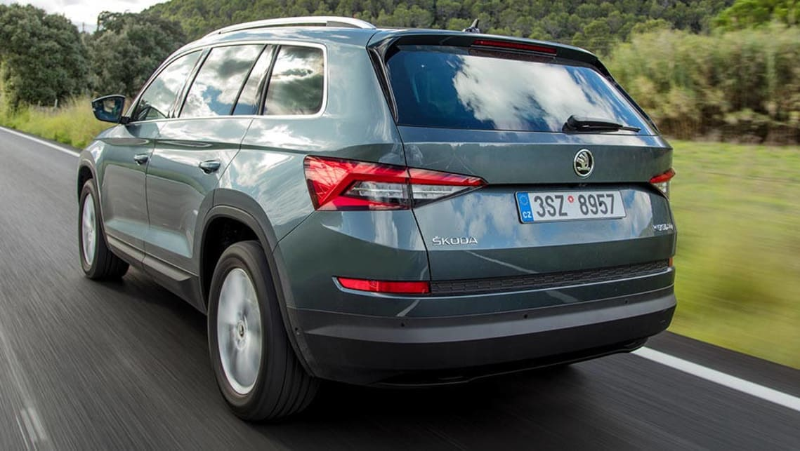 skoda kodiaq 2017 review first drive carsguide. Black Bedroom Furniture Sets. Home Design Ideas