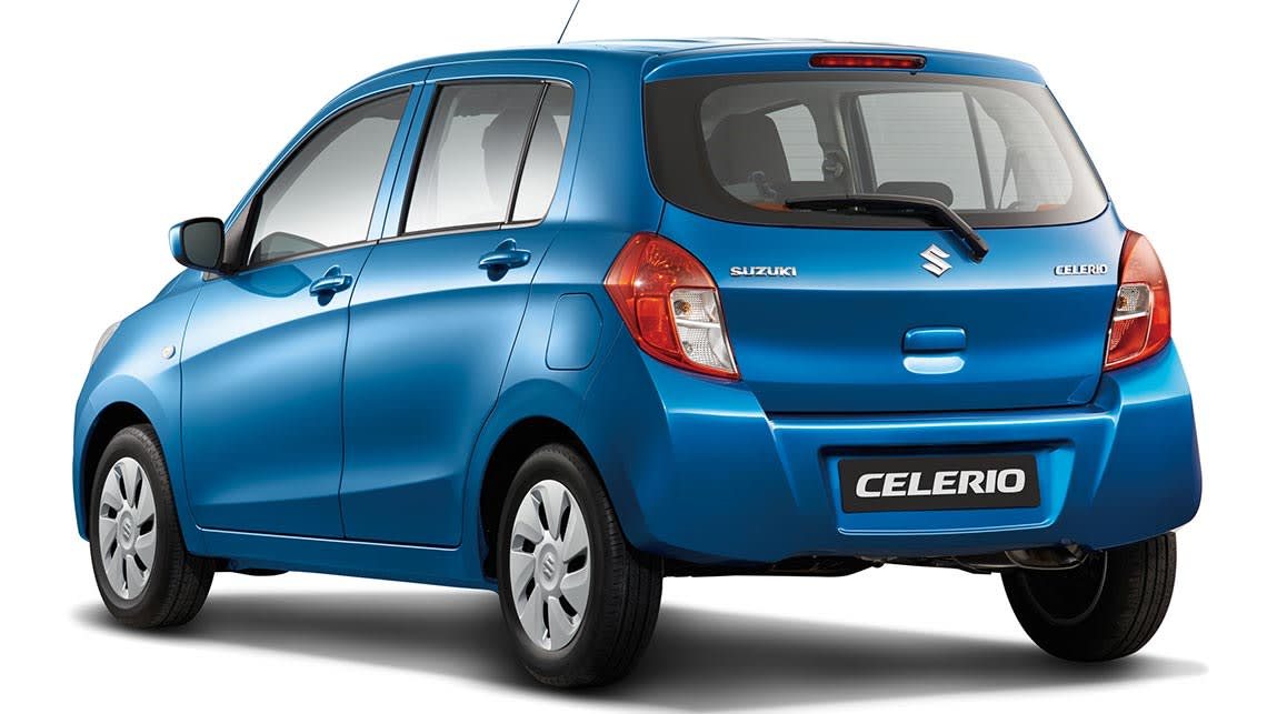 2016 suzuki celerio review road test carsguide. Black Bedroom Furniture Sets. Home Design Ideas