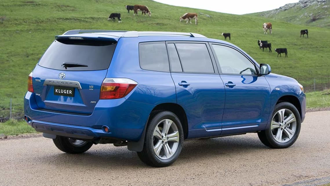 Toyota Kluger Used Review 2007 2013 Carsguide