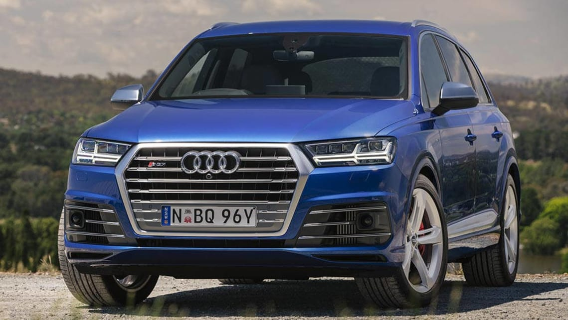 audi sq7 2016 review first australian drive carsguide. Black Bedroom Furniture Sets. Home Design Ideas
