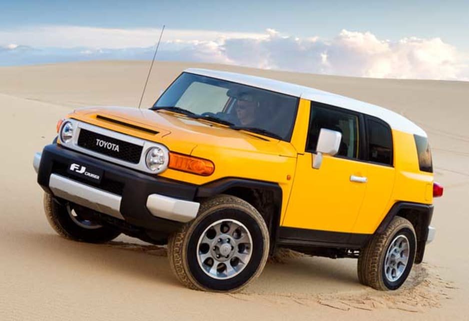 toyota fj cruiser review carsguide. Black Bedroom Furniture Sets. Home Design Ideas