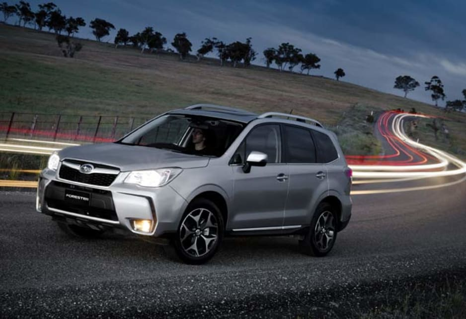 Subaru forester xt premium review carsguide for Subaru forester paint job cost