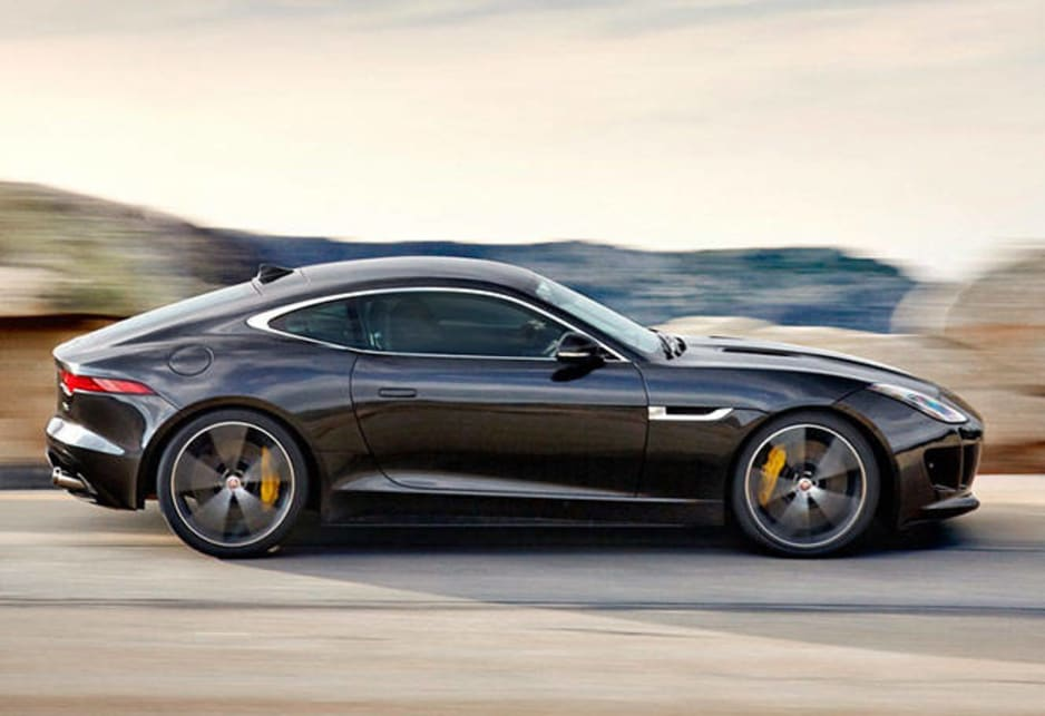 2014 jaguar f type coupe new car sales price car news carsguide. Black Bedroom Furniture Sets. Home Design Ideas
