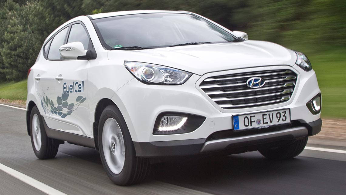 hyundai ix35 fuel cell review first drive video carsguide. Black Bedroom Furniture Sets. Home Design Ideas