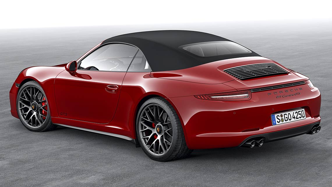 porshe 911 gts cabriolet 2015 review carsguide