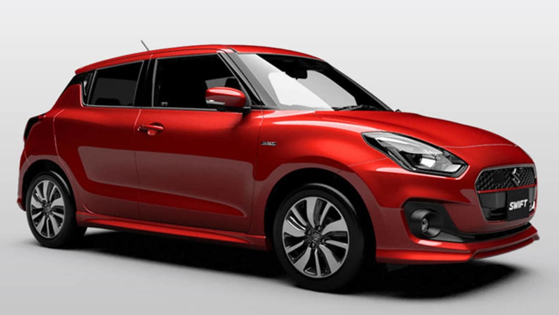 2017 suzuki swift revealed car news carsguide. Black Bedroom Furniture Sets. Home Design Ideas