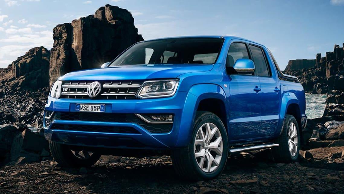 Volkswagen Amarok Tdi550 V6 2017 Review First Australian