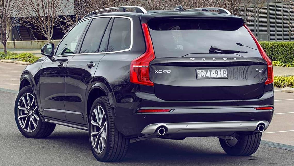 2015 volvo xc90 t6 momentum review carsguide. Black Bedroom Furniture Sets. Home Design Ideas