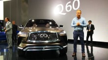 Production-ready Infiniti QX50 SUV unveiled | video