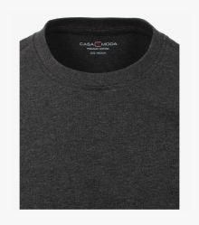T-Shirt in Grauschwarz - CASAMODA