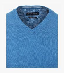 Pullover in helles Himmelblau - CASAMODA