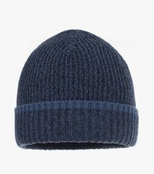 Mütze in Dunkelblau - CASAMODA