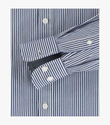 Freizeithemd in Mittelblau Casual Fit - CASAMODA