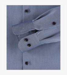 Businesshemd in mittleres Dunkelblau Comfort Fit - CASAMODA