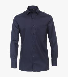 Businesshemd in Dunkelblau Comfort Fit - CASAMODA